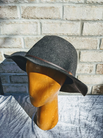 Bailey Jackman Fedora Charcoal
