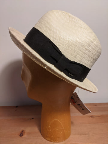 Bailey Lando Lite Straw Fedora Natural