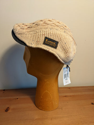 Kangol Knep Cable Cap Natural