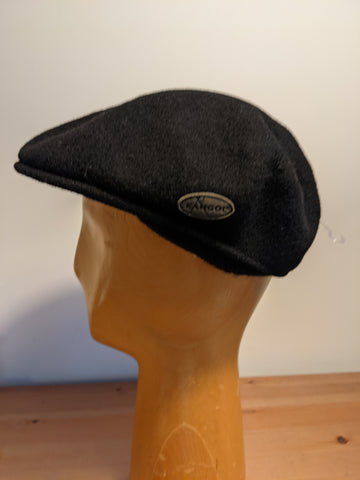 Kangol Wool 504 Earlap Flat cap Black
