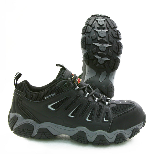 Thorogood Crosstrex 804-6293 Black Composite Toe Waterproof Hiker Work Shoe