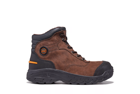 Timberland PRO Endurance 054567 Brown Leather Alloy Safety Toe Work Boot