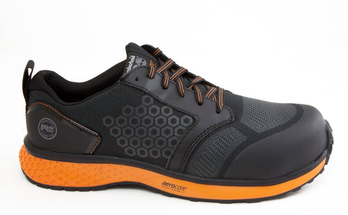 Timberland Pro Reaxion TBOA2123001 Orange Composite Toe Slip Resistant Work Shoe