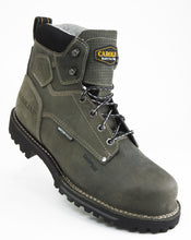 Load image into Gallery viewer, Carolina CA7532 Pitstop Green Leather Waterproof Composite Toe EH Rated Work Boot step