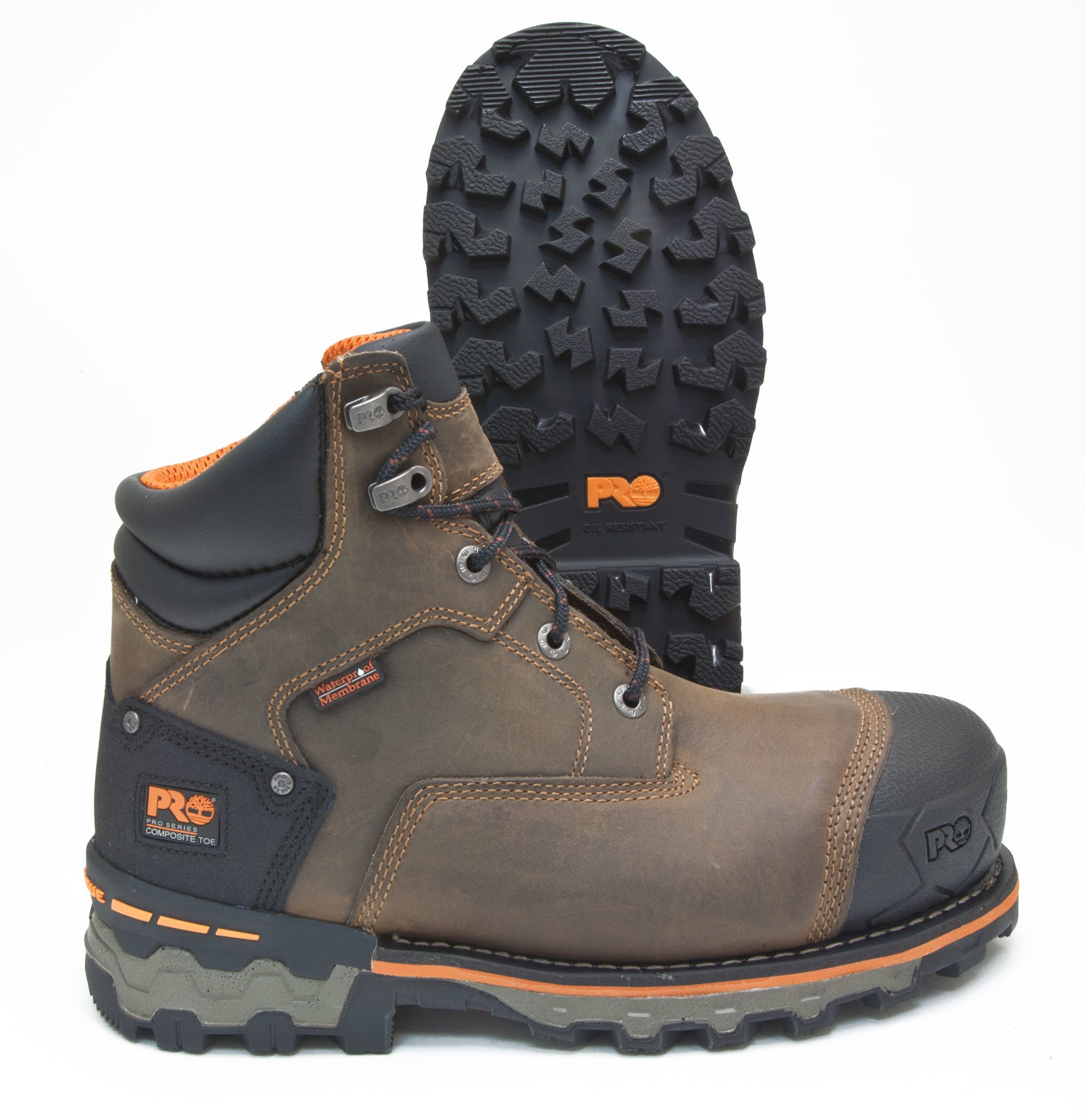 Timberland PRO Boondock Brown Leather