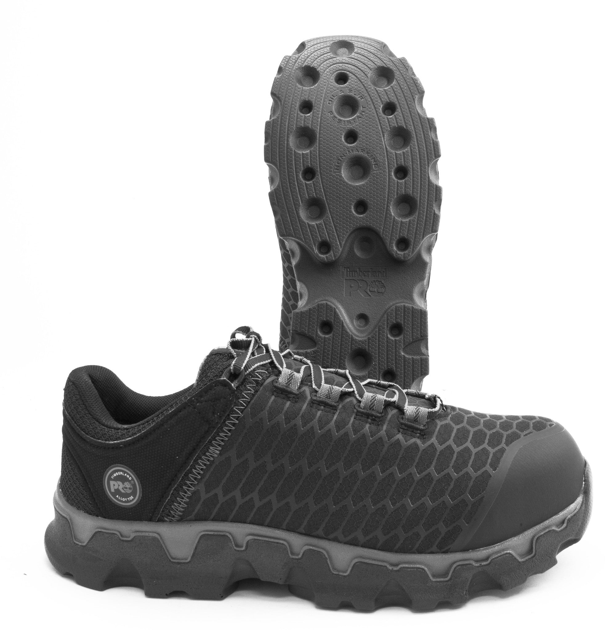 Timberland PRO Women's Powertrain Sport TB0A1B7F001, Non Marking OR SR AT EH Athletic Shoe