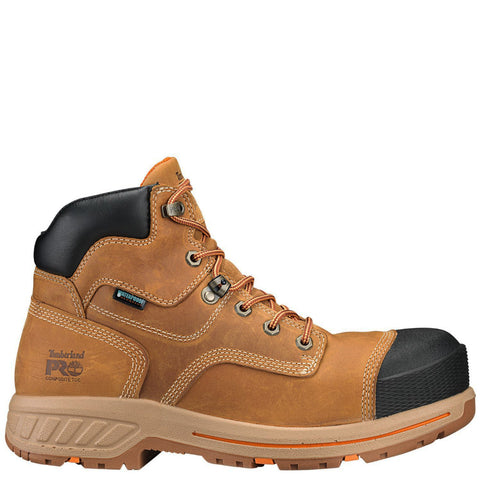 Timberland PRO Helix TB0A1HPY231 Tan Leather Composite Toe Waterproof Work Boot side
