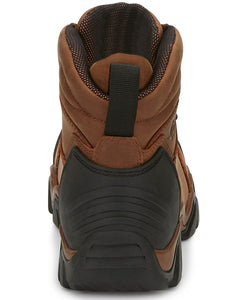 "Chippewa 50003 6"" Atlas Brown Leather Composite Toe Waterproof Work Boot"
