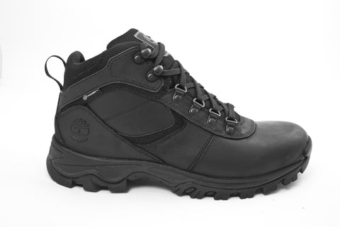 Timberland Mt. Maddsen TB02731R001 Black Leather Waterproof Anti Fatigue Hiking Boot side
