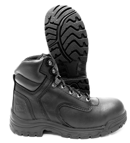"Timberland Titan 6"" Women's Black Alloy Toe Slip & Oil Resistant Work Boot 72399"