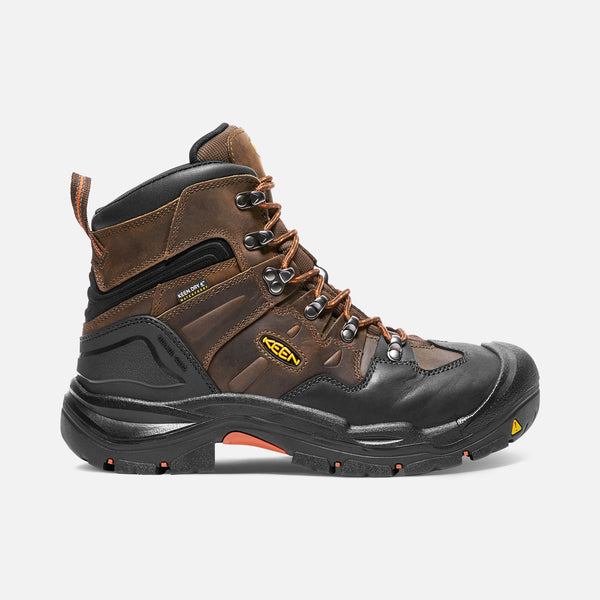 Keen Coburg 1018023 Brown Leather Waterproof Steel Toe American Built Work Boot