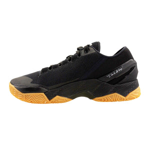 UNDER ARMOUR CURRY 2 LOW BLACK BASKETBALL SNEAKERS - BRAND NEW - SZ 7