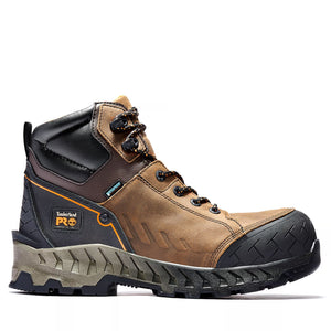 Timberland PRO Work Summit A225Q Brown Leather Composite Toe Waterproof Work Boot