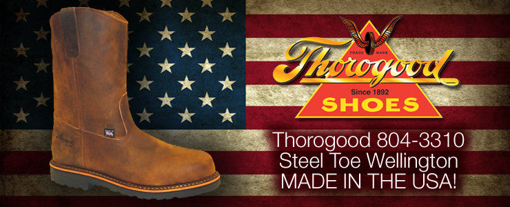 work boot world has thorogood boots