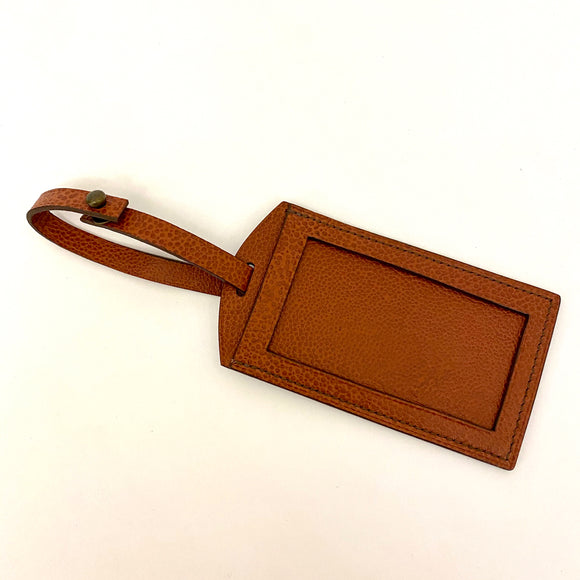 Leather Experience: 1/2 Day Workshop - Embossed Luggage Tag