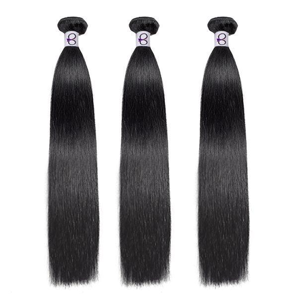 Snazzy Straight 3 Bundle Bossette Box - Bossette Hair