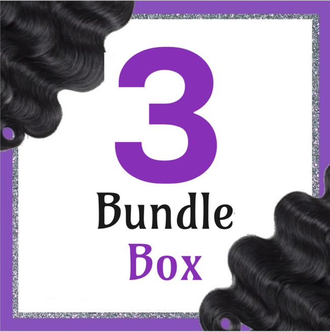 Goddess Natural Wave 3 Bundle Bossette Box - Bossette Hair