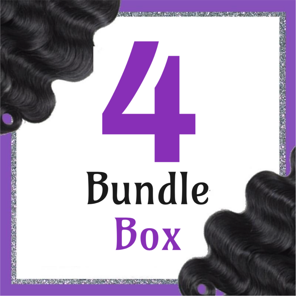 Goddess Natural Wave 4 Bundle Bossette Box - Bossette Hair
