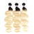 613 Blonde with Black Roots 3 Bundle Bossette Box - Bossette Hair
