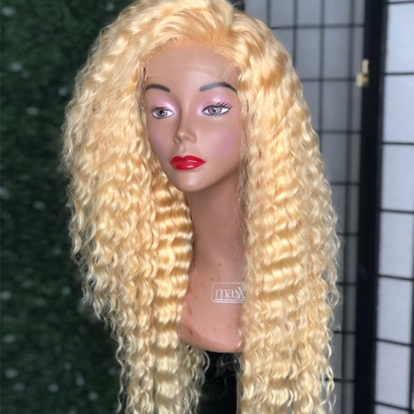 Blonde Deep Wave Wig