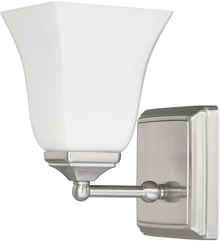 0-016787>1-Light Sconce Brushed Nickel