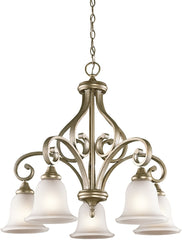 0-025293>Monroe 5-Light Sterling Gold Chandelier