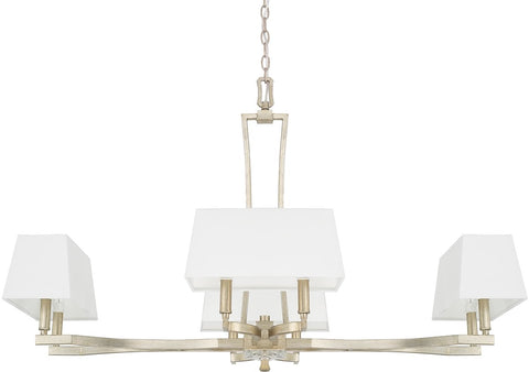 0-026364>Westbrook 8-Light Chandelier Winter Gold