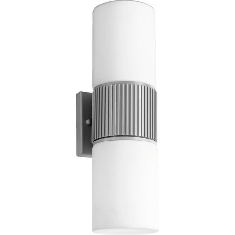 0-036409>Manhattan 2-Light Wall Sconce Grey