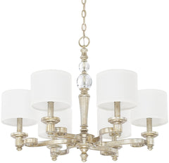 0-023975>Carlyle 6-Light Chandelier Gilded Silver
