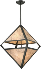 0-036299>18 inchw 4-Light Pendant Polished Chrome
