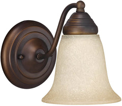 0-014824>Capital Sconces 1-Light Sconce Burnished Bronze