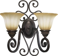 0-002978>17 inchw Summerset 2-Light Wall Sconce Toasted Sienna
