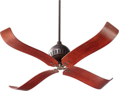 0-012730>52 inch Jubilee -Light Ceiling Fan Oiled Bronze
