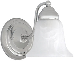 0-014727>Capital Sconces 1-Light Sconce Chrome