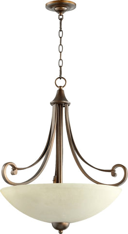 0-032055>Lariat 4-Light Pendant Oiled Bronze