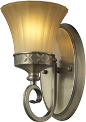 0-031521>6 inchw Claremont 1-Light Bathbar Colonial Bronze