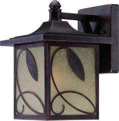 0-021662>13 inchh Devonwood 1-Light Outdoor Wall Lantern Flemish Copper