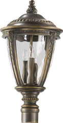 0-024778>Pemberton 3-Light Outdoor Post Light Bronze Patina