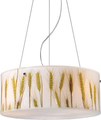 0-171329>Modern Organics 3-Light Pendant Polished Chrome