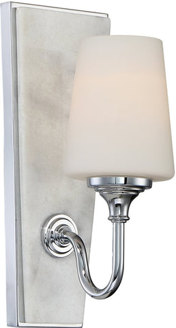 0-016833>Lusso 1-Light Wall Sconce Chrome