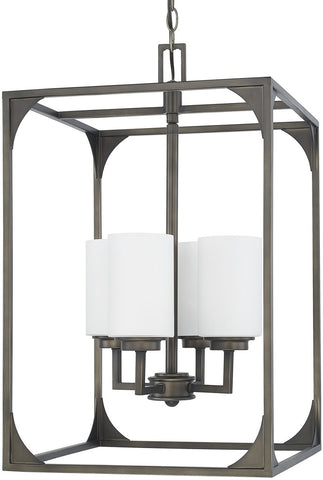 0-021535>Flynn 4-Light Foyer Gunmetal