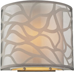 0-004748>OPEN BOX Autumn Breeze 1-Light Wall Sconce Brushed Nickel