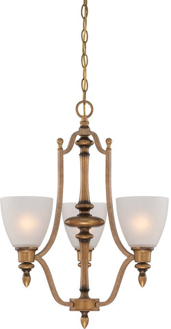 0-015837>Isla 3-Light Chandelier Aged Brass