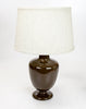 0-006750>Maddy Table Lamp with Textured Drum Shade