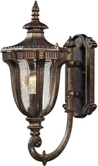 0-026867>Sturgess Castle 1-Light Outdoor Wall Sconce Regal Bronze
