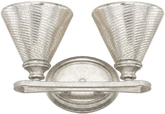 0-004397>14 inchw Corrigan 2-Light Vanity Antique Silver