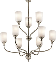 0-026242>Lilah 9-Light Antique Pewter Chandelier
