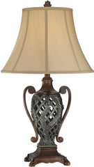 0-006453>OPEN BOX 29 inchh Kylemore 1-Light Table Lamp Dark Bronze