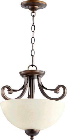 0-019180>Lariat 2-Light Dual Mount Oiled Bronze