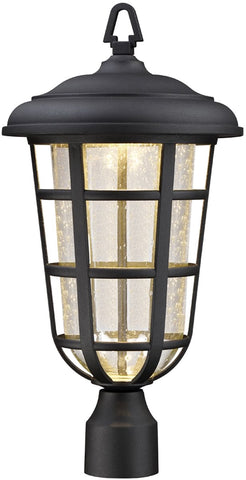 0-002789>Triton -Light Outdoor Post Light Black